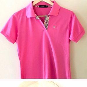 Burberry golf shirt